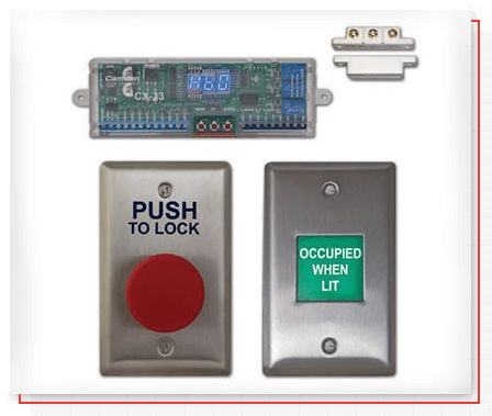 Camden Controls restroom control kit