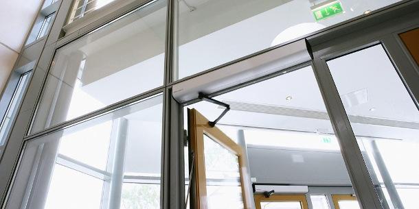 The Besam SW100 Low Energy Swing Door Operator