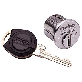 medeco ecylinder lock and key
