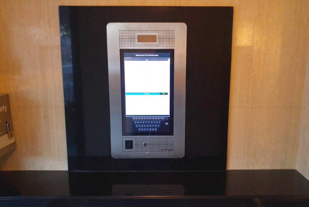 mircom telephone access system installed in condo