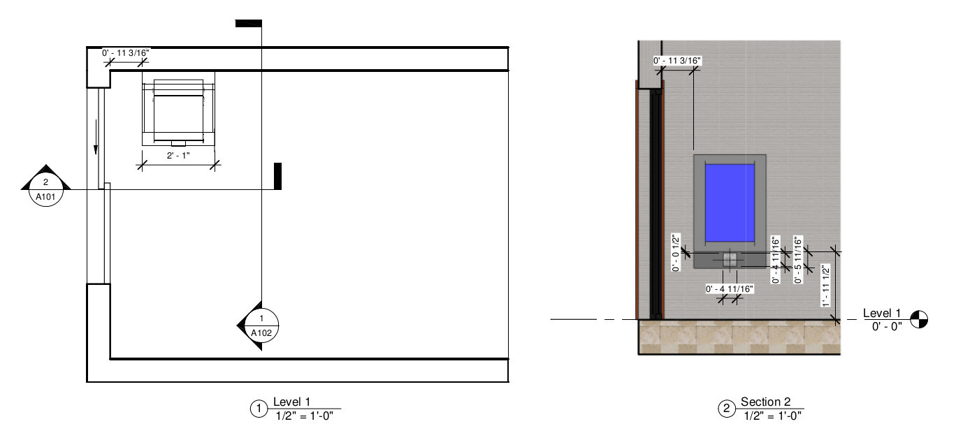 A visual mockup shows the Mircom system's positioning within the condo's front entryway.