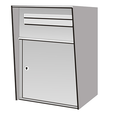 Riopel R292 Collection Box With Slot And Flap Mailboxes