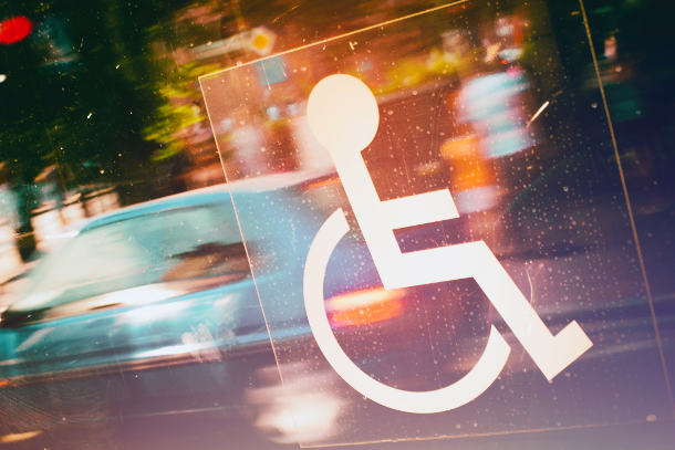 Wheelchair icon symbolizing accessibility